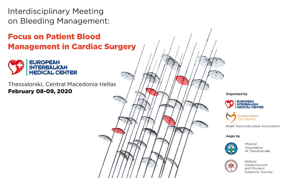 Interdisciplinary Meeting on Bleeding Management: Focus on Patient Blood Management in Cardiac Surgery